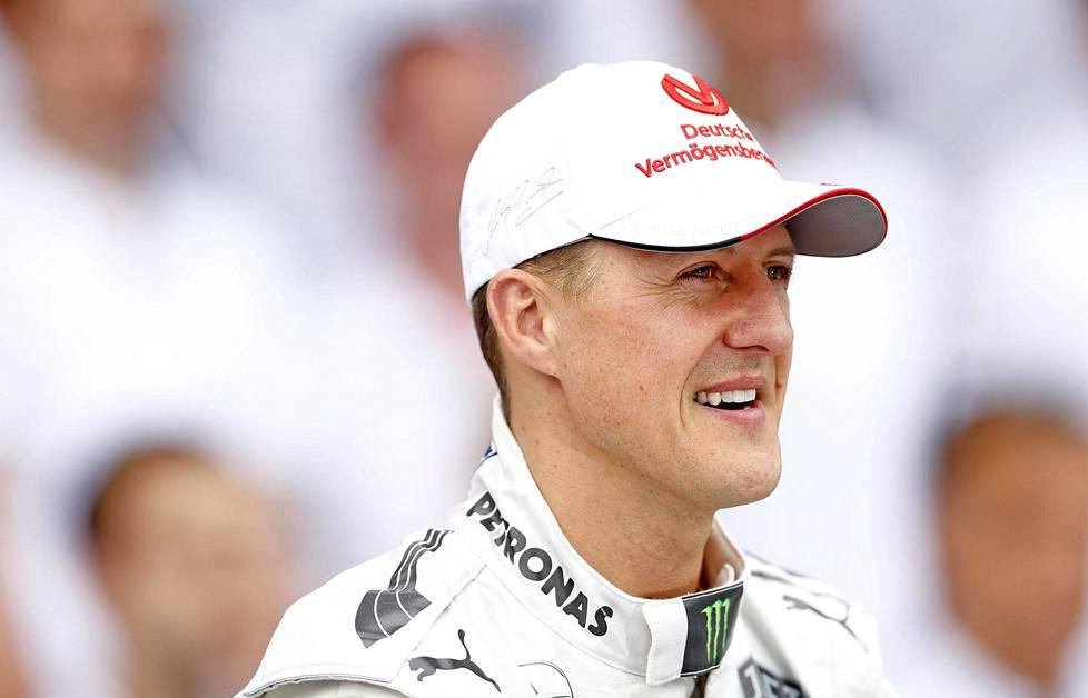 Michael Schumacher kuvattuna 25. marraskuuta 2012.