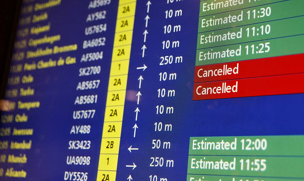 Myöhästymiset ja peruuntumiset ovat arkea lentomatkustamisessa. Silti moni ei tiedä, että niistä on määrätty vakiokorvaukset.