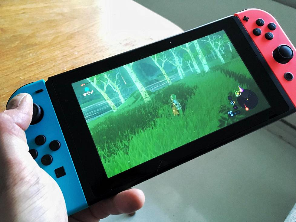 The Legend of Zelda: Breath of the Wild on Nintendon uuden Switch-konsolin lippulaivapeli.