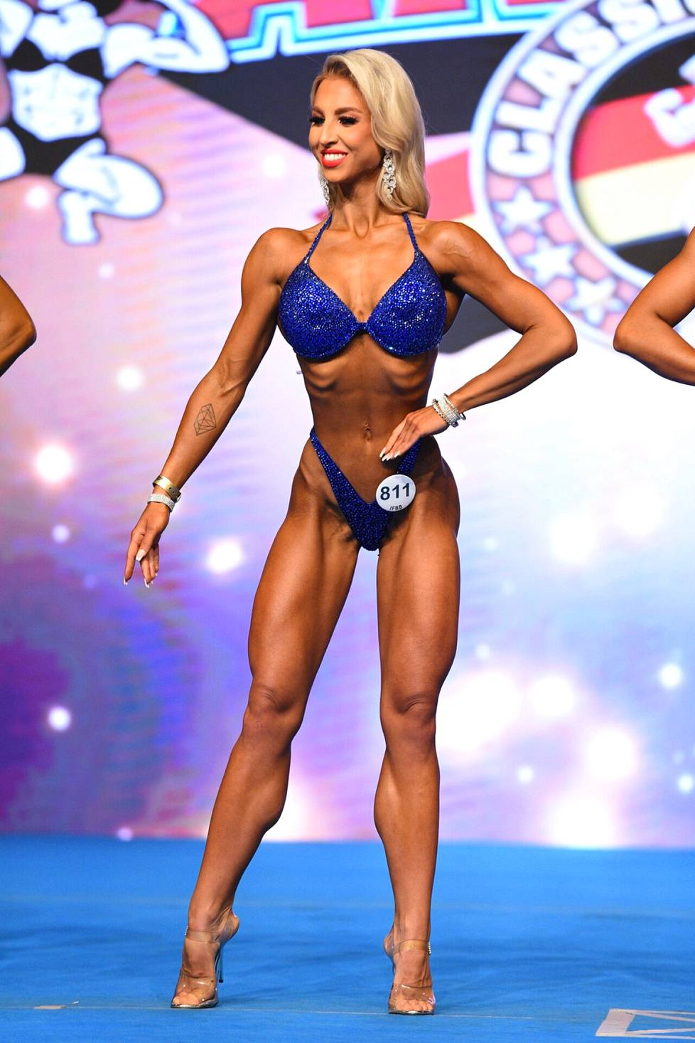 In Arnold Classic Europe, Rosa Paloperä grabbed first place.