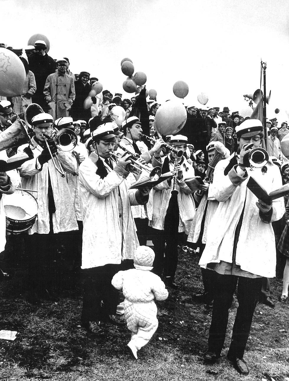 Vappujuhlaa vuonna 1969.