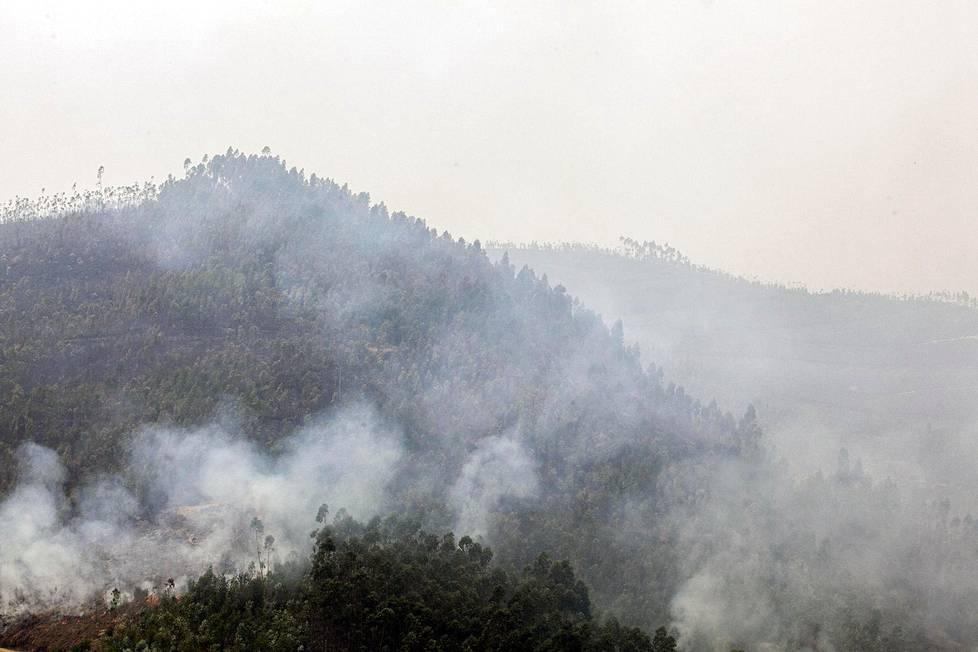 Keski-Portugalin suurpaloista muodostui suuri tragedia.