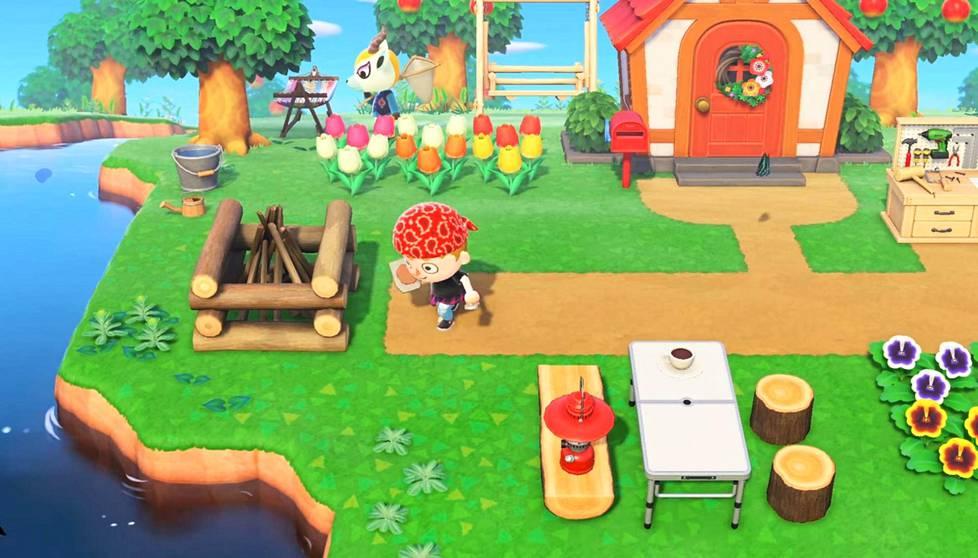 Animal Crossing: New Horizonsissa rakennetaan saarelle kylää omaan tahtiin.