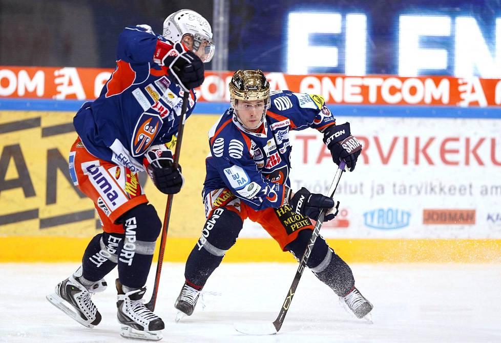 Tapparan Kristian Kuusela voitti runkosarjan pistepörssin.