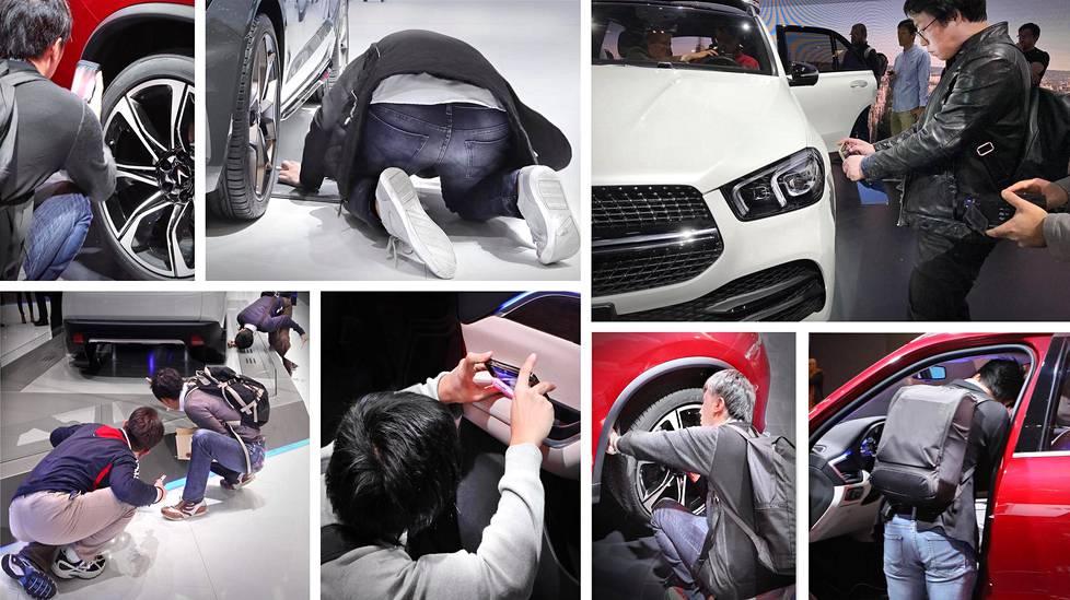 Maailman suurimpiin kuuluva autotapahtuma Pariisissa tarjoaa haastaja-asemissa oleville autoteollisuuden edustajille mahdollisuuden nuuskia edelläkävijöiden ratkaisuja.