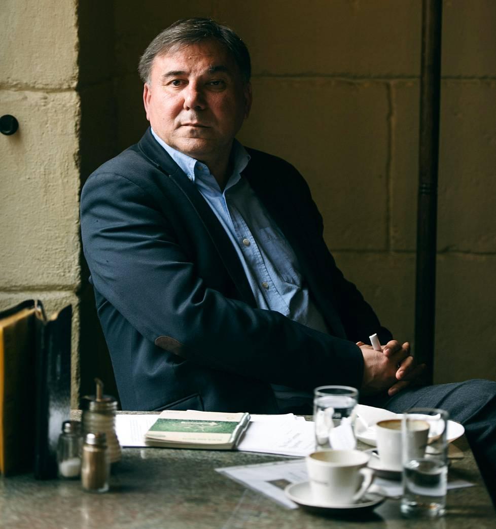 Euroopan kehityksen analysoija, bulgarialainen politiikantutkija Ivan Krastev.