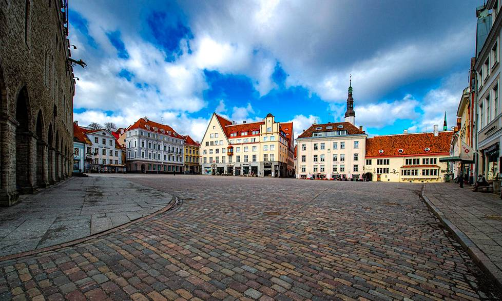 There is a desert in the Old Town of Tallinn.