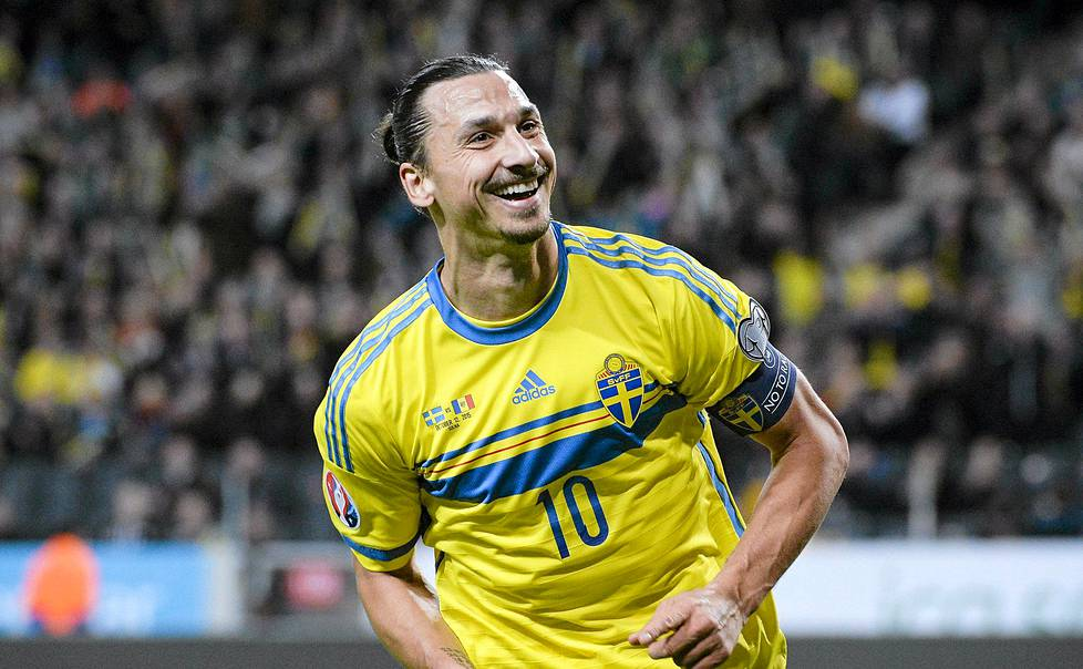 Zlatan on kultalevylaulaja.