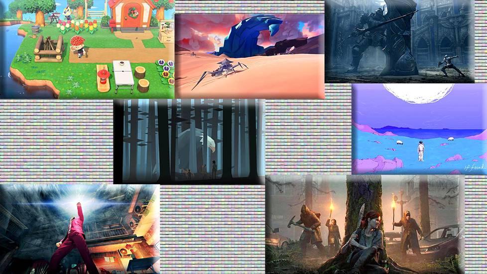 Muun muassa Animal Crossing: New Horizons, Paper Beast, Demon's Souls, Kentucky Route Zero: TV Edition, If Found..., Yakuza: Like A Dragon ja The Last of Us Part 2 pääsivät Nytin viime vuoden parhaiden pelien listalle.