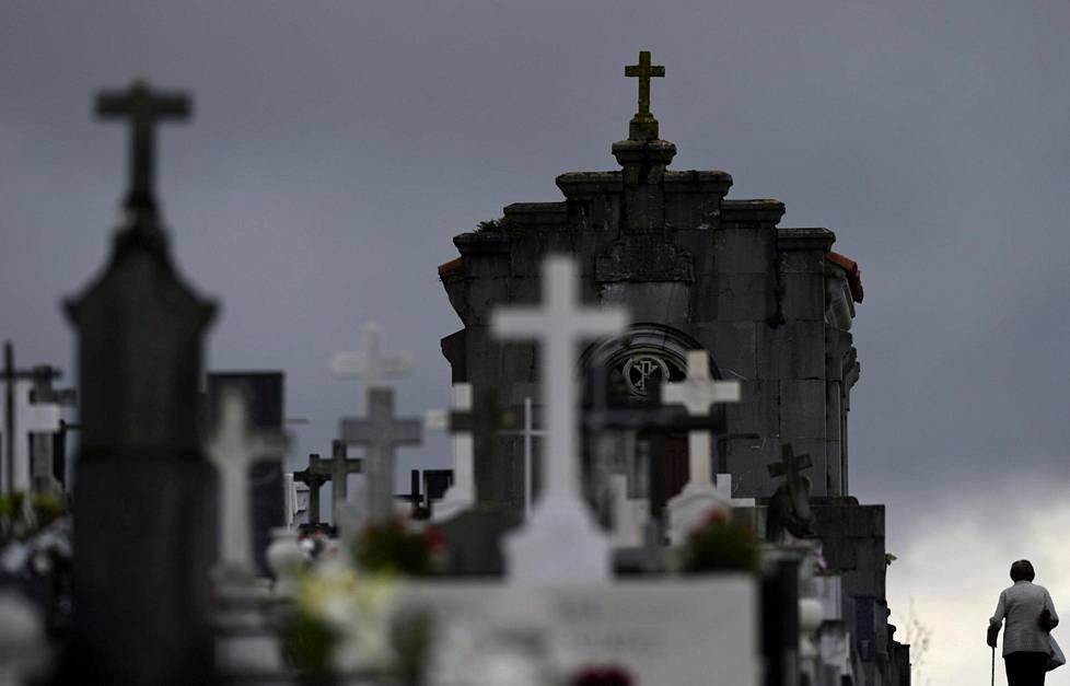 San Salvadorin hautausmaa Espanjan Oviedossa.
