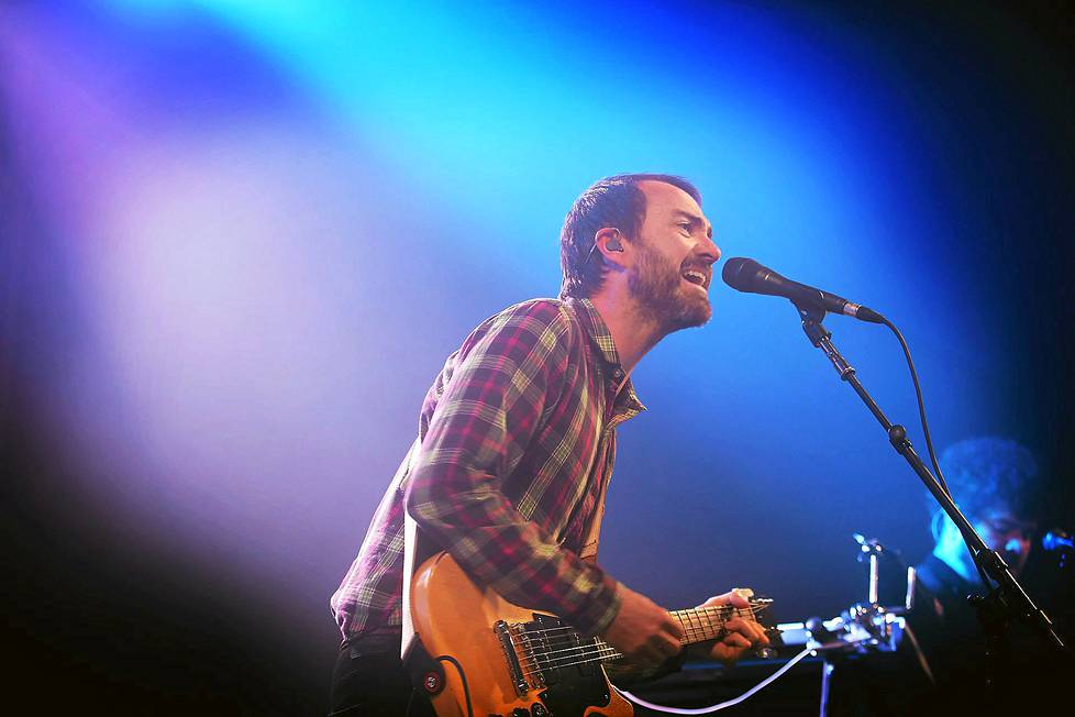 The Shins-yhtyeen James Mercer Garden Party -festivaaleilla.