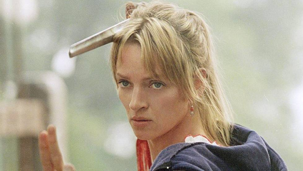 Uma Thurman elokuvassa Kill Bill 2.