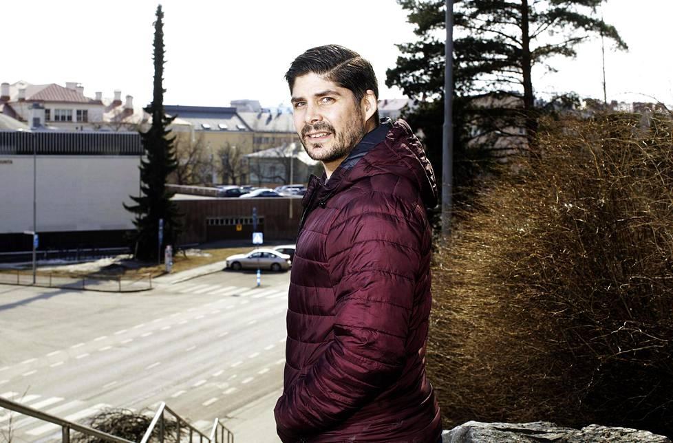 Éric Perrin on tuttu näky jyväskyläläisille.