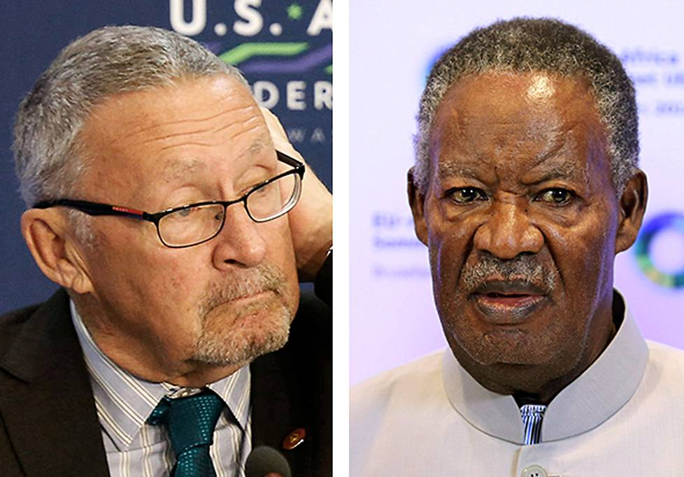 Guy Scott ja Michael Sata.