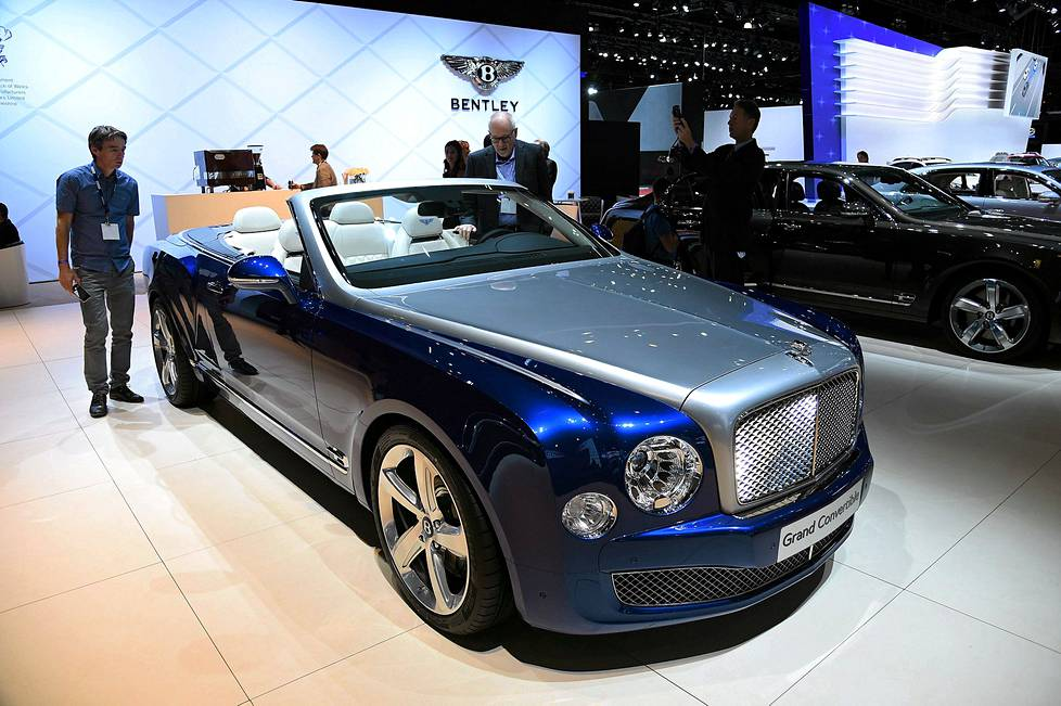 Bentley Grand Convertible.