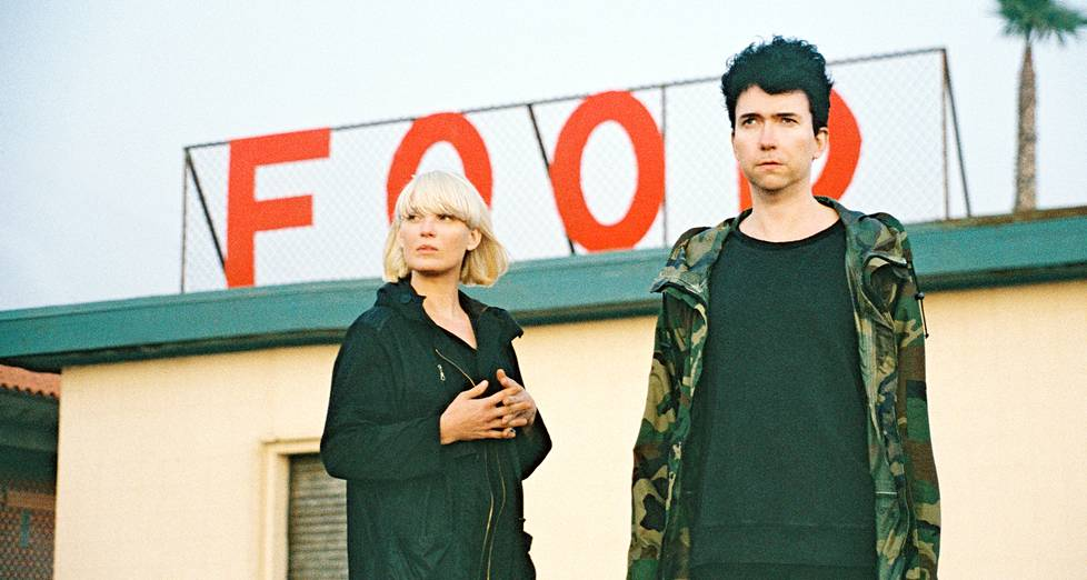 The Raveonettes eli Sune Rose Wagner ja Sharin Foo.