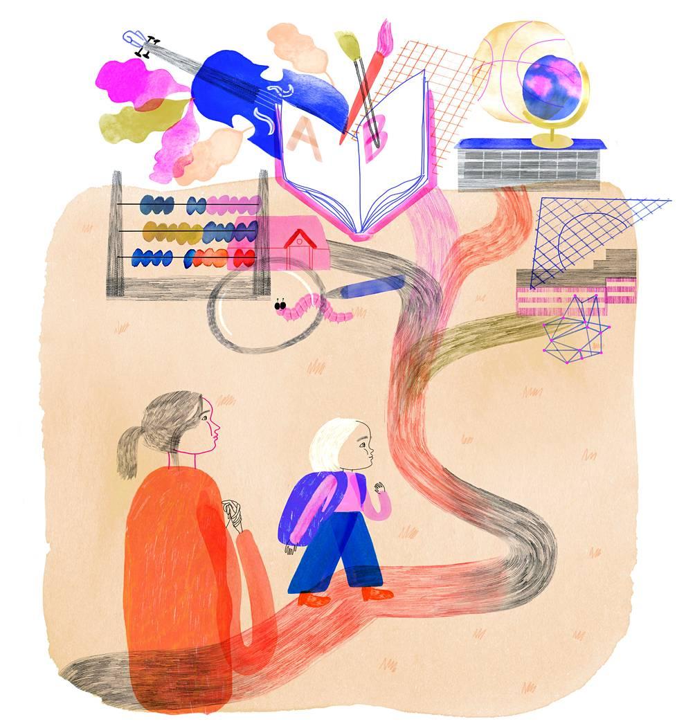 Miten 4-vuotias jaksaa keskittyä opetukseen? Spurttaako hän varhaisen aloituksen ansiosta kohti menestystä?