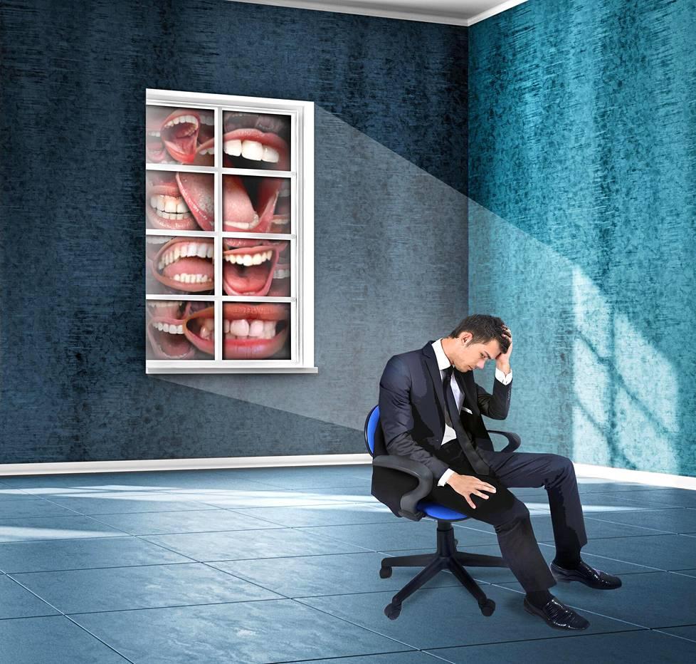 Monella työpaikalla puhutaan selän takana pahaa, ja sillä voi olla tuhoisat seuraukset.