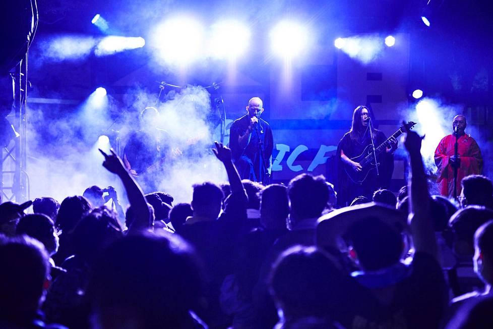 Dharma esiintyi helmikuun lopussa Taiwanin Taichungissa.