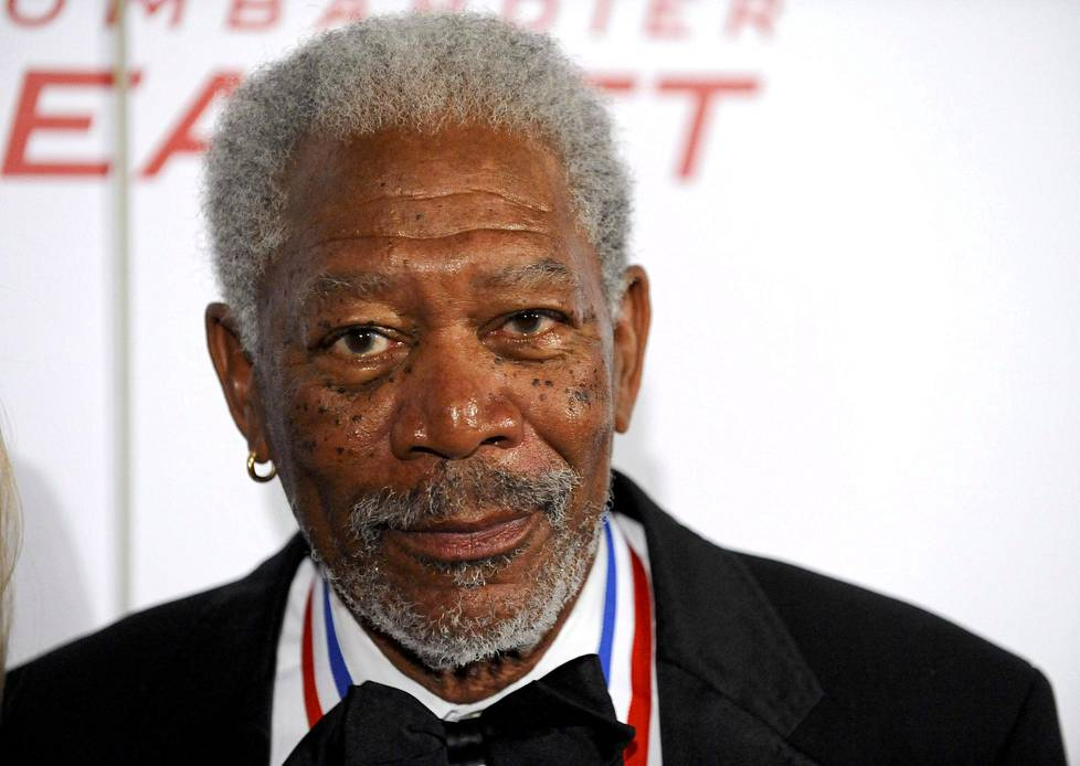 Morgan Freeman Kaliforniassa 2012.