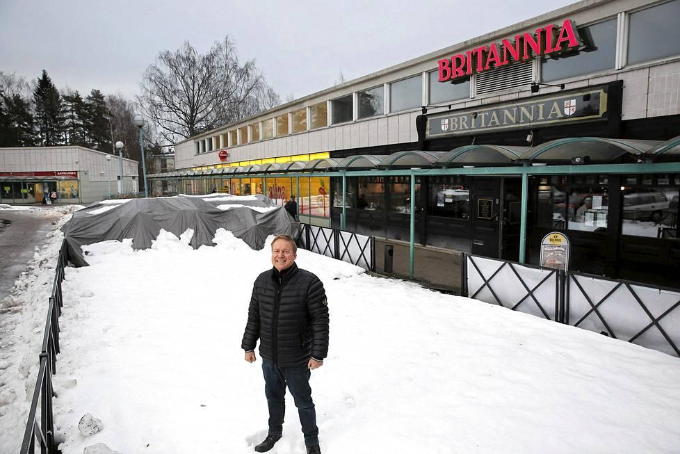 Ravintola Britannia Kannelmäki