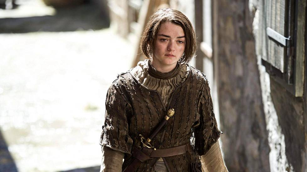 Maisie Williams näyttelee Game of Thronesissa Arya Starkia.