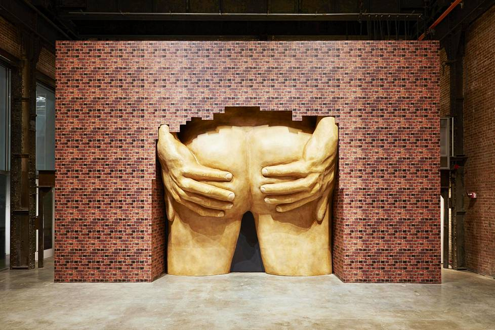 Anthea Hamilton: Project for Door (After Gaetano Pesce)