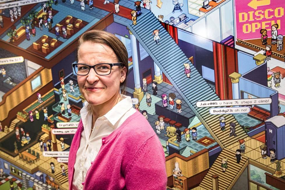 Sulakkeen toimitusjohtaja Liisa Puurunen.