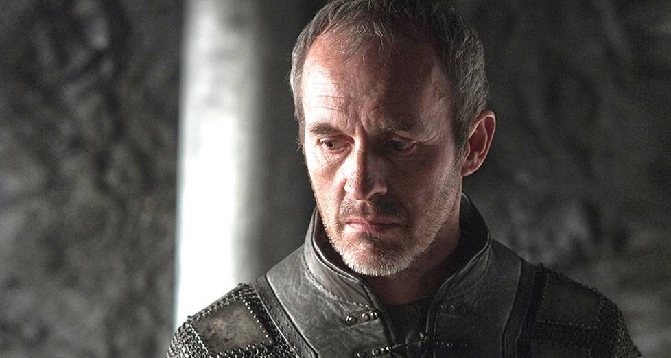 Game of Thronesin Stannis Baratheonia esittää Stephen Dillane.