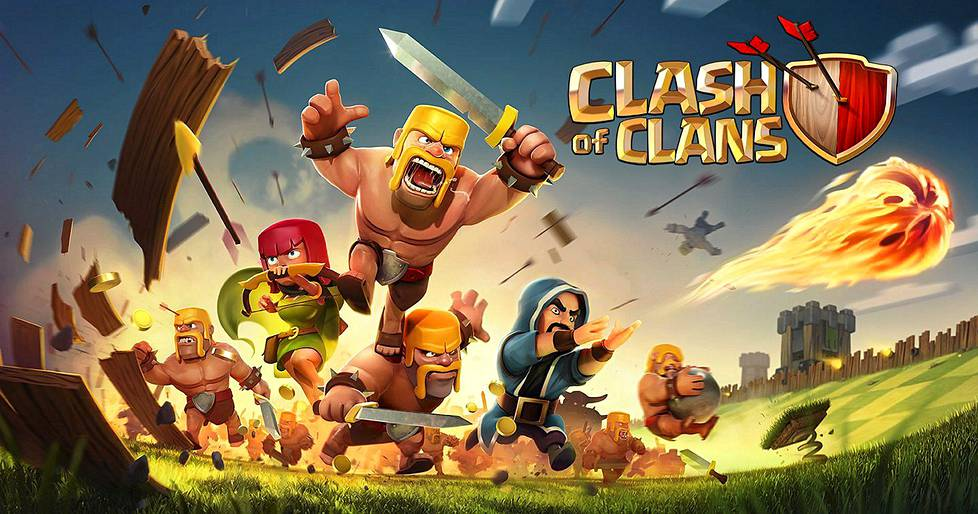 Clash of Clans -peli.