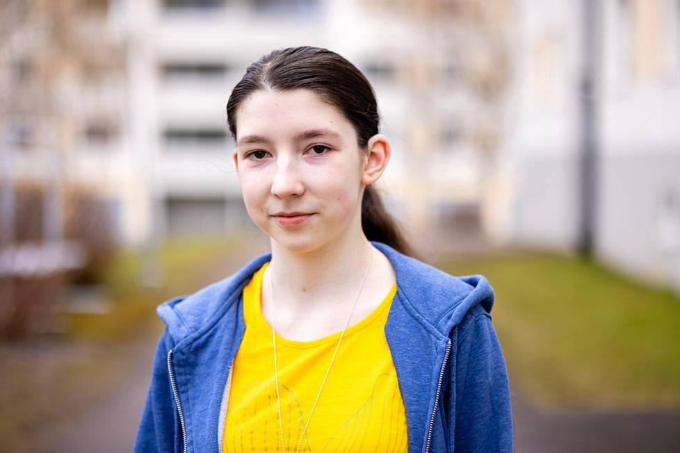 Svetlana Zubareva toivoo, että opiskelupaikka irtoaa, sillä hän ei haluaisi pitää välivuotta opinnoissa.