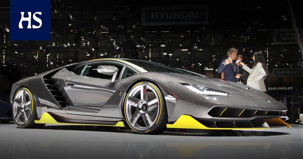 Rytsölä Lamborghini