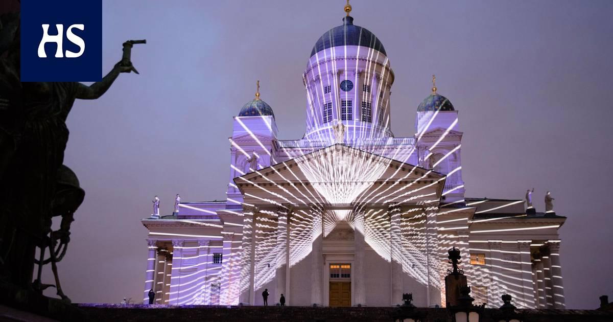 Lux Helsinki tuo keskustaan uv-valossa hohtavat graffitit ja kymmenen muuta valotaideteosta ...