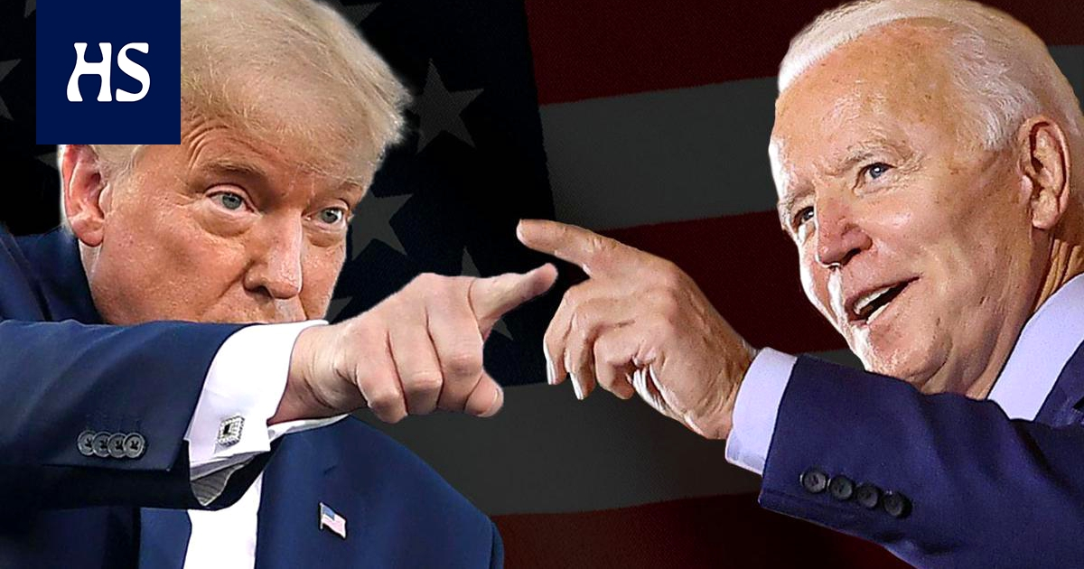 Us Presidential Election Trump And Biden Meet In The Final Debate At Four In The Morning Hs Shows The Debate Live And Follows It Moment By Moment Pledge Times