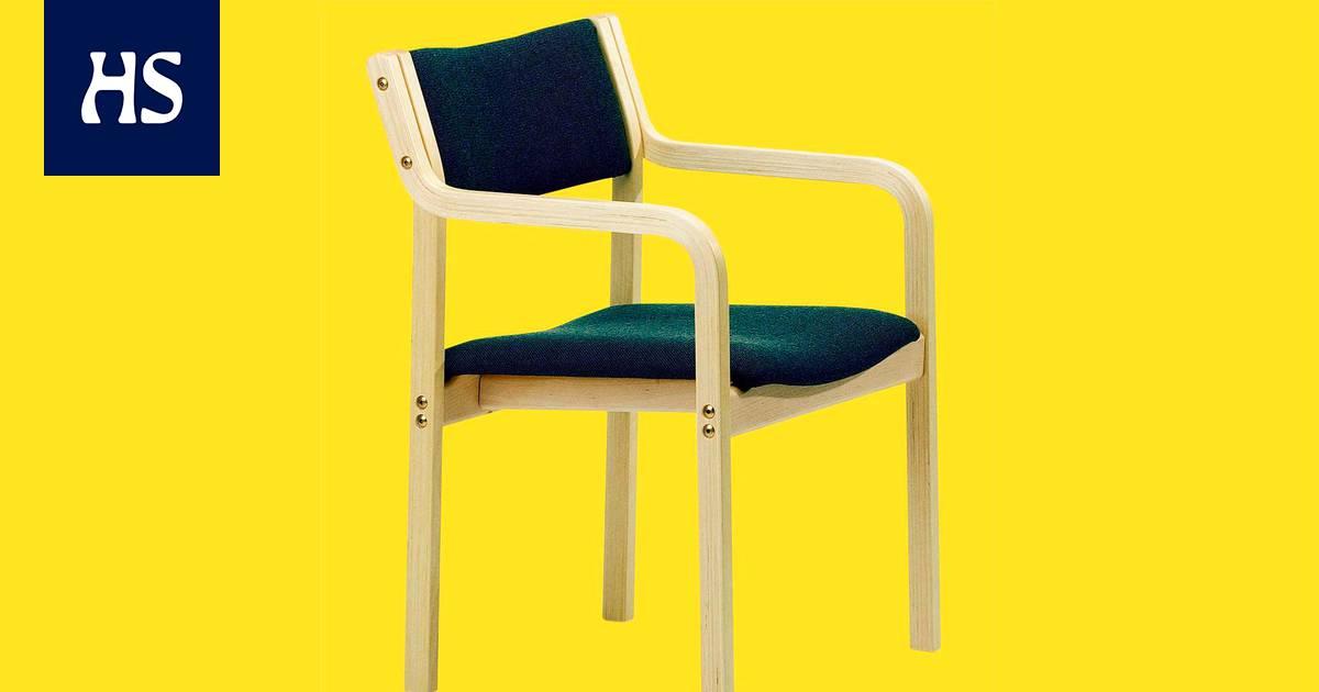 Tässä on Suomen yleisin tuoli, eikä se ole juhlittua