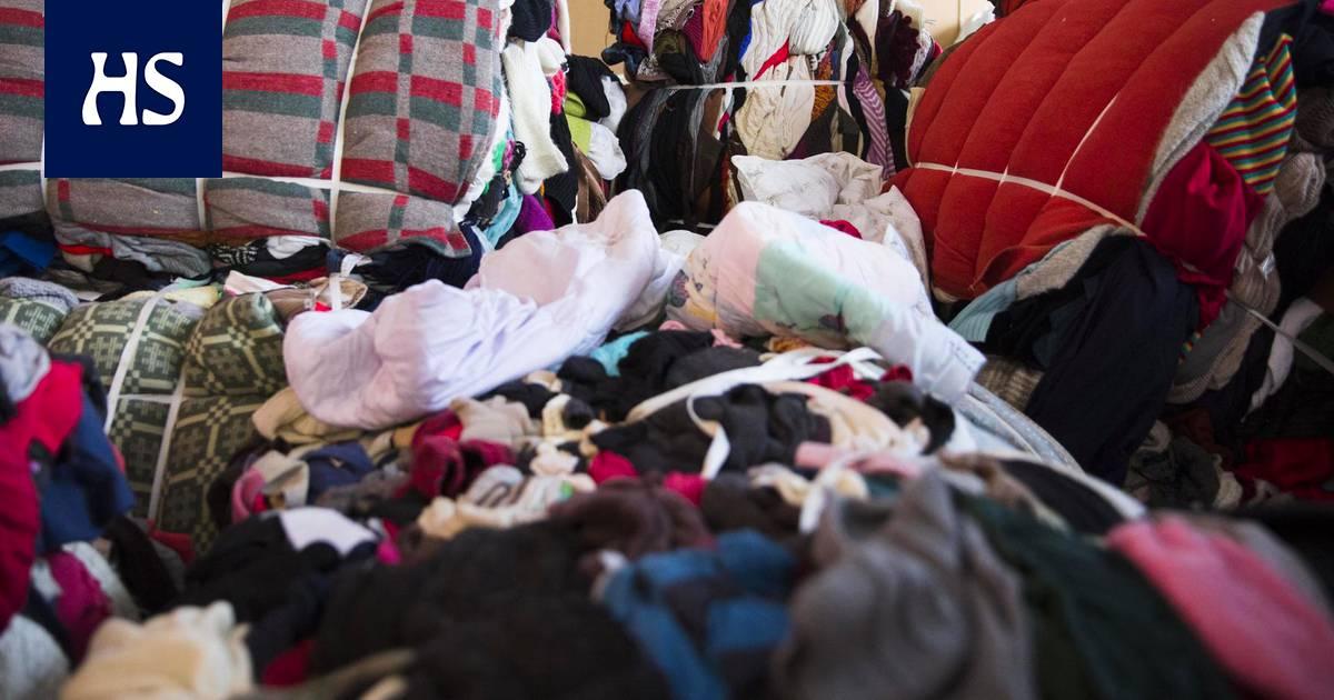 Rikkinäiset Vaatteet Kierrätys