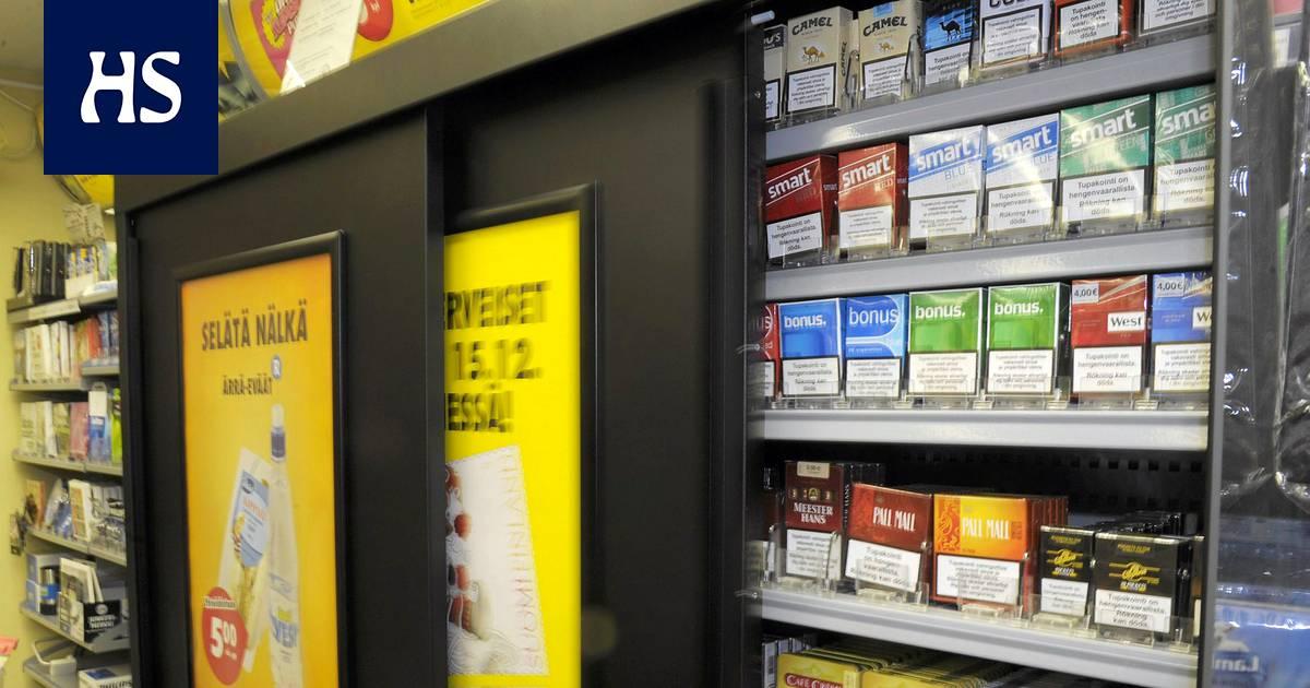 Mentolitupakalla jopa 25 % osuus suomalaisessa tupakkakaupassa