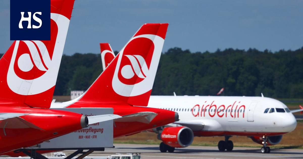 Air Berlin Konkurssi