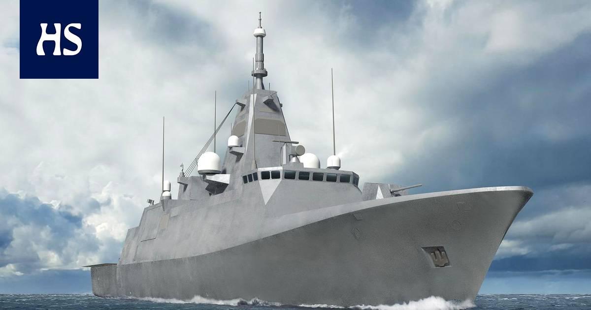 Puolustusvoimien uudet sotalaivat rakennetaan Raumalla