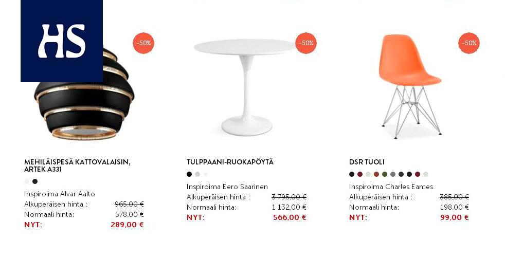suomalaisten design klassikoiden kopioita 90 prosenttia. Black Bedroom Furniture Sets. Home Design Ideas