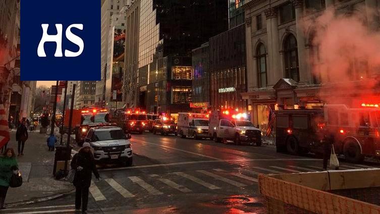 Trump Towerissa tulipalo, paikallismedioiden mukaan kukaan ei ole loukkaantunut - Ulkomaat ...