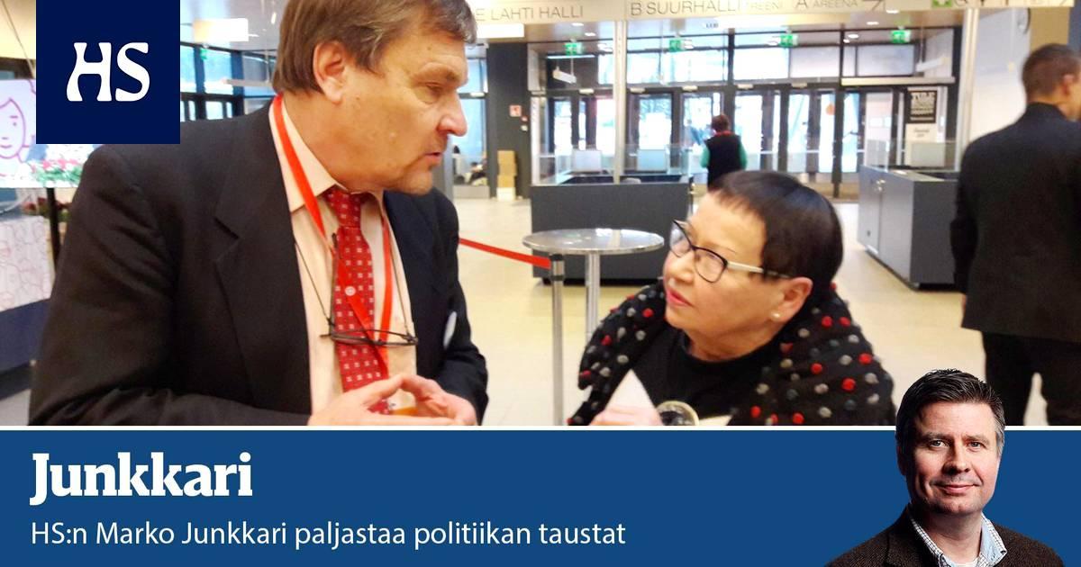 Vihreät, vasemmistoliitto ja Rkp allekirjoittivat Sdp:n vaalitaktisen veivauksen - Junkkari | HS.fi