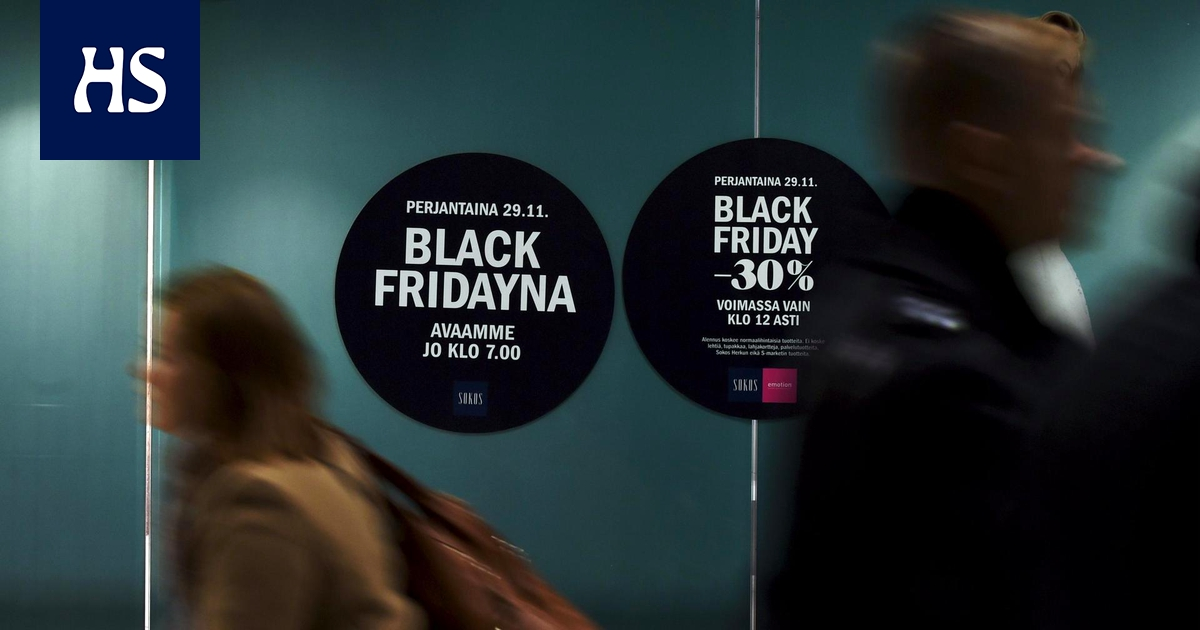 Black Friday Suomessa
