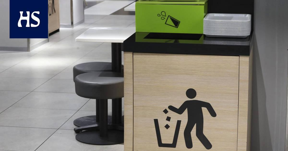 McDonald's, Burger King ja monet muut pikaruokalat eivät lajittele roskiaan, ja syyllisiä ovat yhtiöiden mukaan asiakkaat