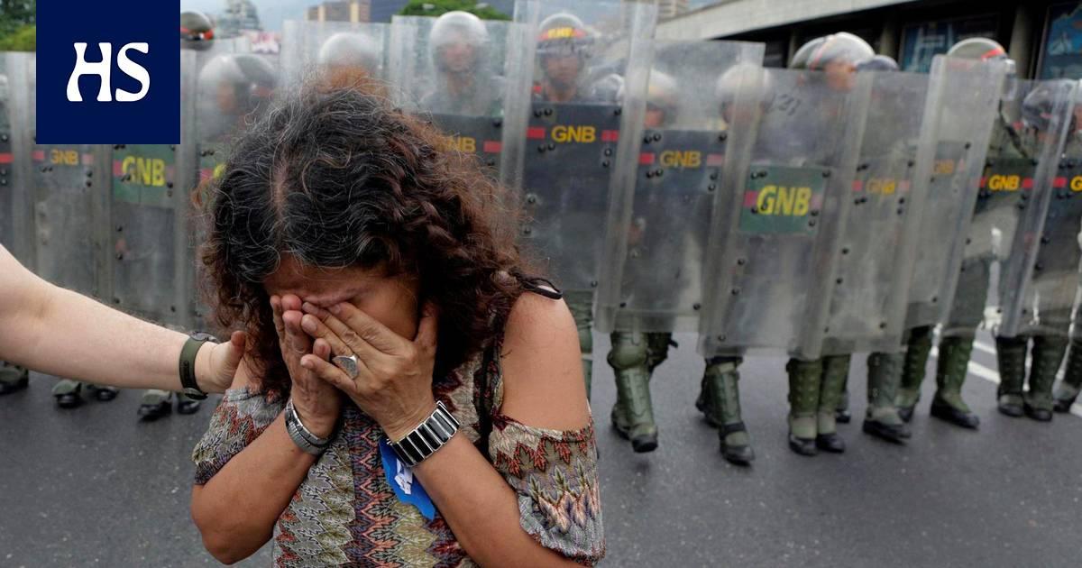 Täysi kaaos lähenee Venezuelassa – presidentti teki siviilien turvallisuusjoukoista laillisia