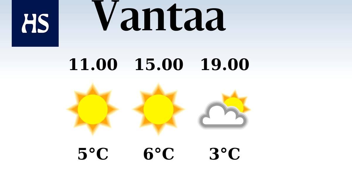 Sää Vantaa