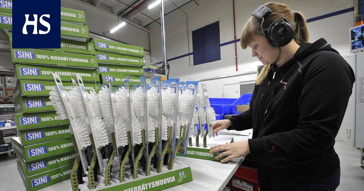 Sinituote tekee vessaharjoja muovisista jauhelihapakkauksista – Suomalaisten kierrätysinto ei tahdo pysyä p