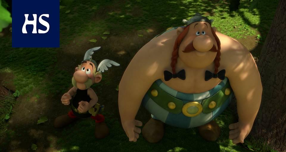 Asterix Jumaltenrannan Nousu Ja Tuho