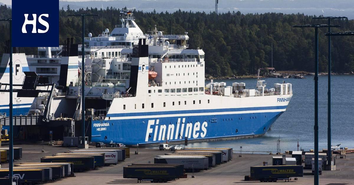 Laivalla Saksasta Suomeen