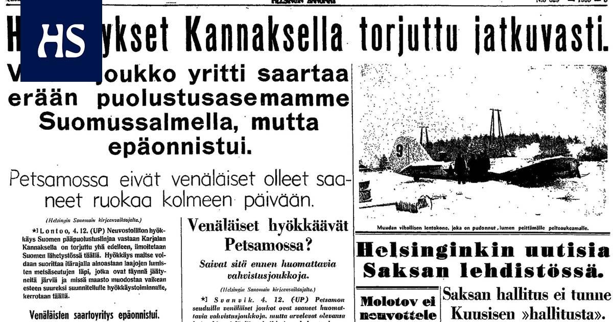 Mistä Vanhoja Sanomalehtiä